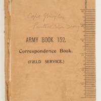 John Moyle War Diary