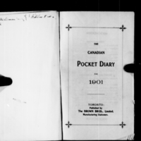 Reverend Robert James Roberts Diary 1901 (A/E/R54/R54 1901)