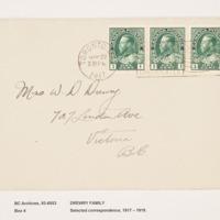John Haworth Drewry Letters
