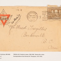Frederick Tregillus Letters from the Cariboo Boys