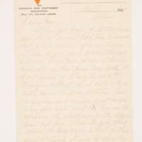 Alma Russell Letters