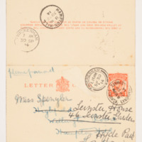Cecil Henry Meares Letters